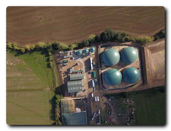 The biomethane plant delivers enough gas to supply about 9,600 households with green energy.